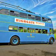 Trolleybus 862 Art Print