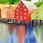 Trondheim Art Print