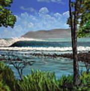 Tropic Vibrations Art Print