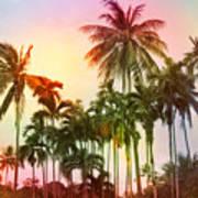 Tropical 11 Art Print