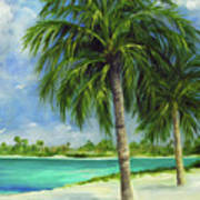 Tropical Beach Two Art Print