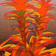 Syncopated Botanicals Multi Art Print