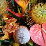 Tropical Bouquet Art Print