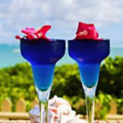 Tropical Cocktails Art Print
