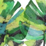 Tropical Dreams 1- Art By Linda Woods Art Print