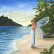 Tropical Fairy Art Print
