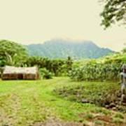 Tropical Farm Art Print