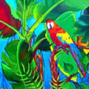 Tropical Flame Art Print