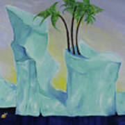 Tropical Getaway Art Print
