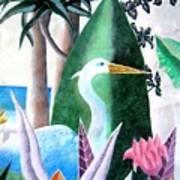 Tropical Goose Art Print