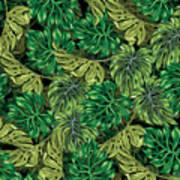 Tropical Haven 2 Art Print