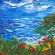 Tropical Horizons Art Print