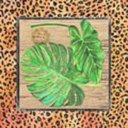 Tropical Palms 2 Art Print