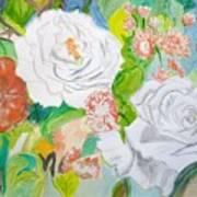 Tropical Rose Art Print