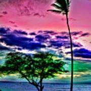 Tropical Trees Art Print