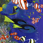 Tropicals  Art Print