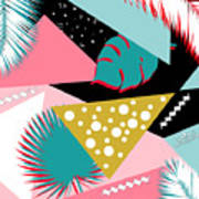 Tropics Colors  Art Print