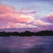 Trout Lake Sunset I Art Print