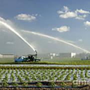 Truck Mounted Irrigation Art Print