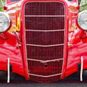 Truck Red Art Print