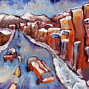 Truckee First Snow Art Print