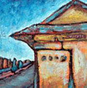 Truckee Train Depot Number 2 Art Print