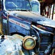 Truckin Print by Debbi Granruth