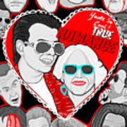 True Romance Art Print by Gary Niles