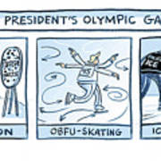 Trump Olympic Games Art Print