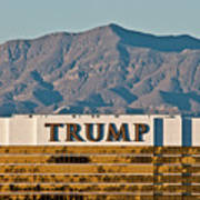 Trump Tower Nevada Art Print by Andy Smy
