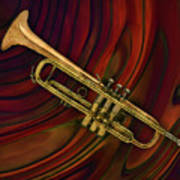Trumpet 2 Art Print