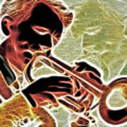 Trumpet Art Print by Stephen Younts