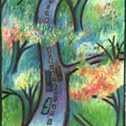 Trunk Road Art Print