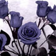 Trunk Roses Art Print