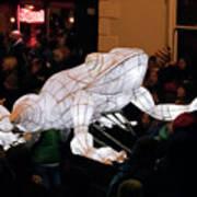 Truro Lantern Parade Frog Art Print