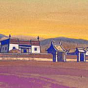 Tsagan-kure, Inner Mongolia Art Print