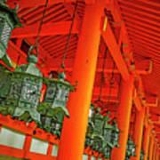 Tsuri-do-ro Or Hanging Lantern #0807-5 Art Print