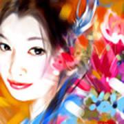 Tsuru Hime Art Print
