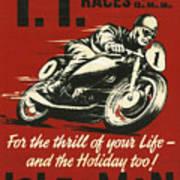 Tt Races 1961 Art Print