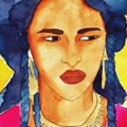 Tuareg Woman Art Print