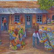 Tubac Pottery Shop Art Print