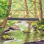 Tuckers Brook Art Print