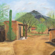 Tucson Ranch Art Print