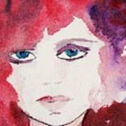 Tueday's Girl Art Print