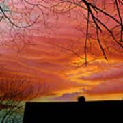 Tuesdays Sky Art Print