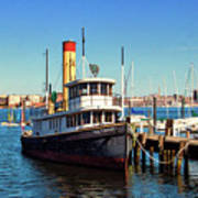 Tugboat Baltimore At The Museum Of Industry Art Print
