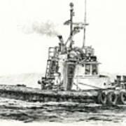 Tugboat Kelly Foss Art Print