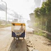 Tuk Tuk Taxi Art Print