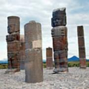Tula: Toltec Monuments Art Print