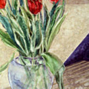 Tulip Bouquet - 11 Art Print